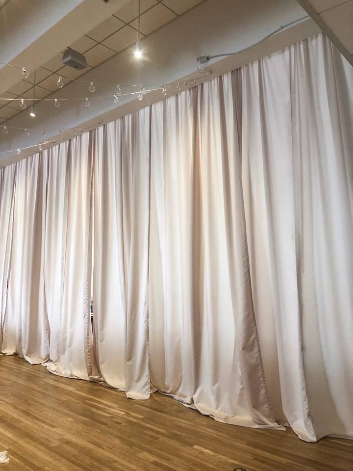 Champagne Room Divider Draping